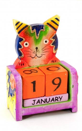 Вечный календарь Кот 116516
