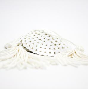 Стикини с кисточкой белые, фото 2
