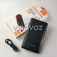 Повербанк повер банк power bank портативный дополнительный аккумулятор зарядка 10000 Mah черный RDX-245