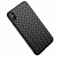Чехол для iPhone X / Xs Rock Weave (Black), фото 1