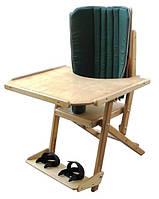 Стул складной со столом (с угловой вставкой) для детей, фото 1