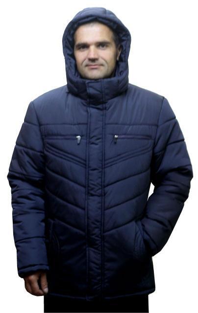 Теплая мужская куртка (2 цвета)