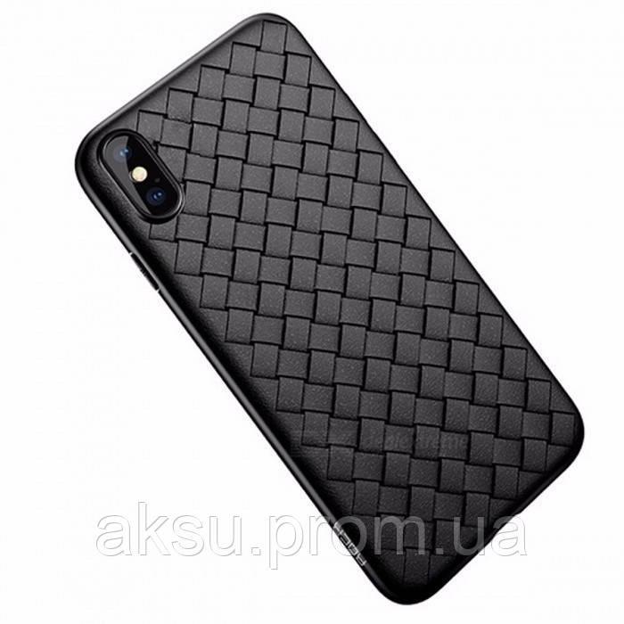 Чехол для iPhone Xr Rock Weave (Black)
