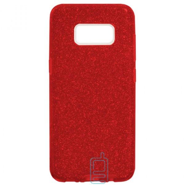Чехол силиконовый Shine Samsung S8 G950 красный