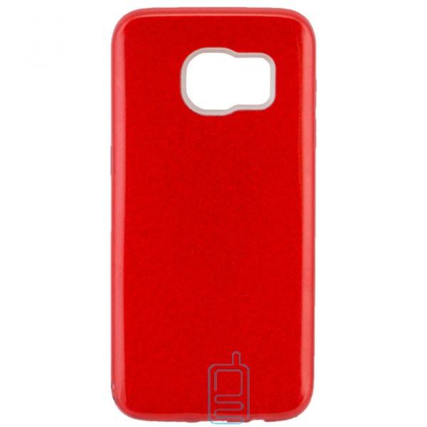 Чехол силиконовый Shine Samsung S7 Edge G935 красный