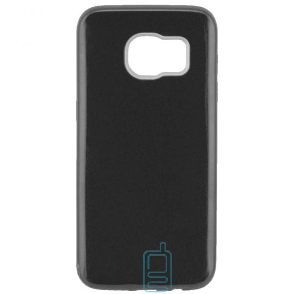 Чехол силиконовый Shine Samsung S7 Edge G935 черный