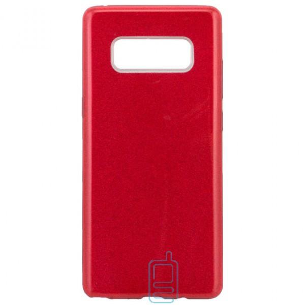 Чехол силиконовый Shine Samsung Note 8 N950 красный
