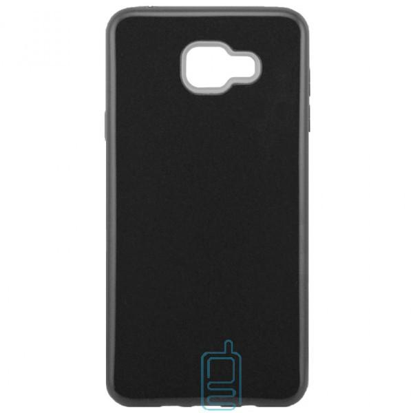 Чехол силиконовый Shine Samsung A7 2016 A710 черный