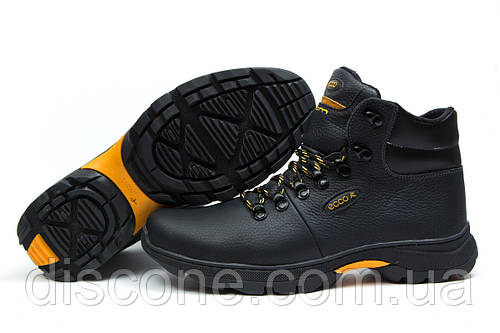 Зимние кроссовки на меху Ecco Biom, черные (30682), р.  [  41 (последняя пара)  ]