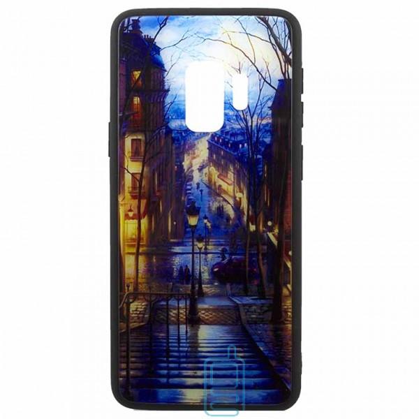Чехол накладка Glass Case New Samsung S9 G960 лестица