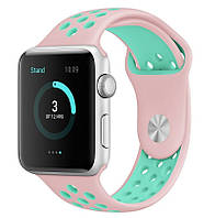 Ремень Sport Band for Apple Watch 42mm/44mm (Light Pink/ Light Blue), фото 1
