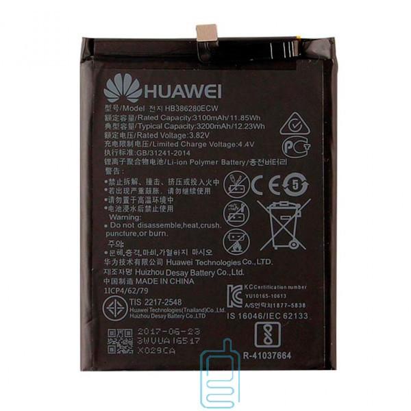 Аккумулятор Huawei HB386280ECW 3200 mAh для P10, Honor 9 AAAA/Original тех.пакет