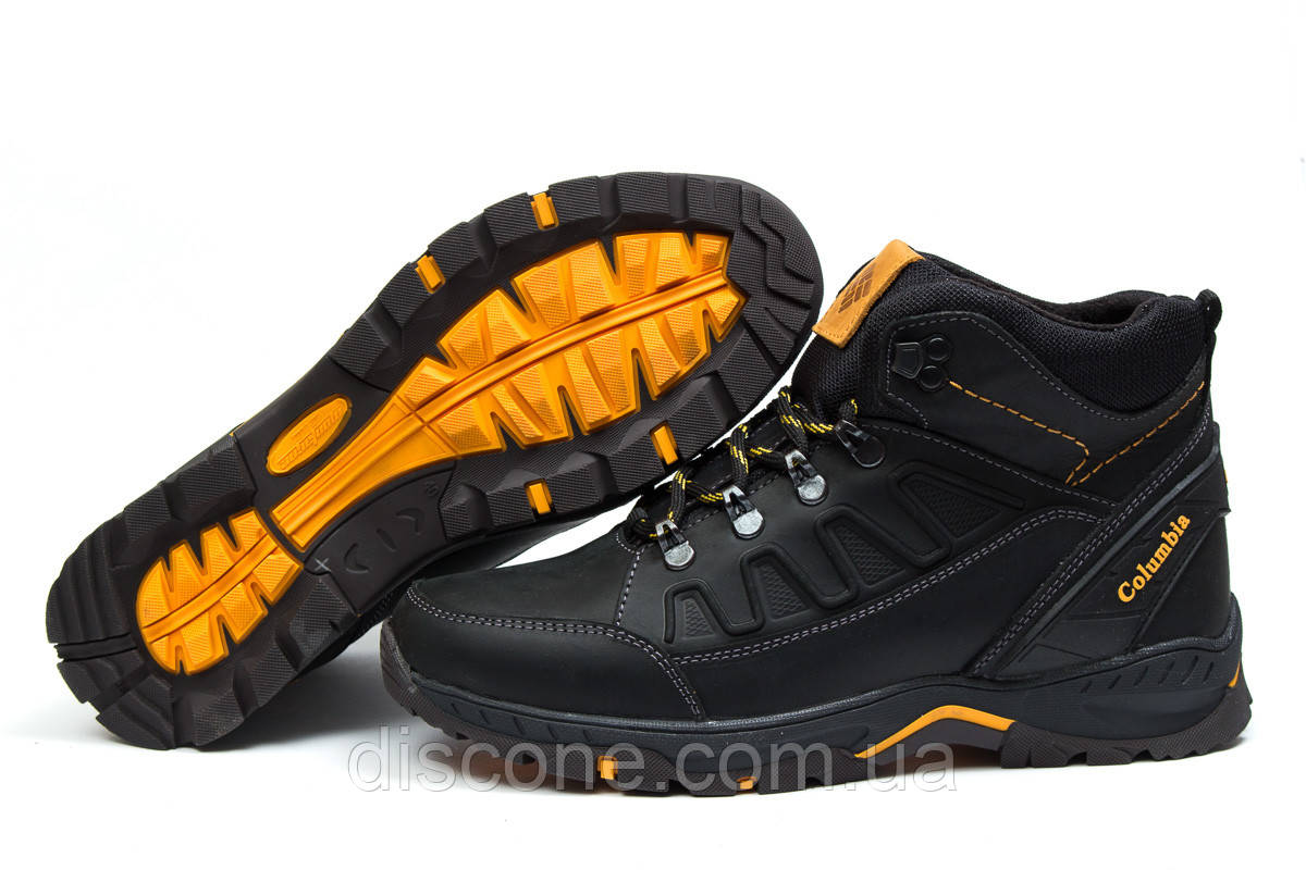 Зимние ботинки на меху ► Columbia TRACK,  черные (Код: 30701) ► [  40 (последняя пара)  ] ✅Скидка 33%