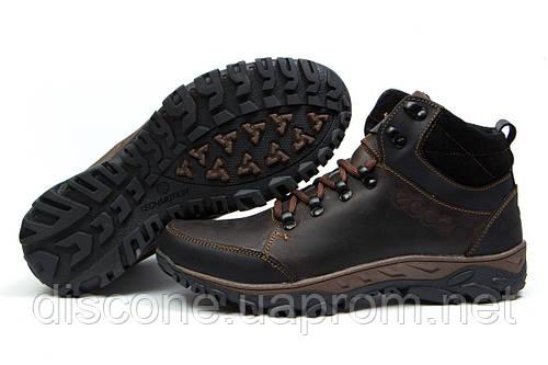 Зимние кроссовки на меху Ecco Techmotion, коричневые (30711), р.  [  40 41 42 43 44 45  ]