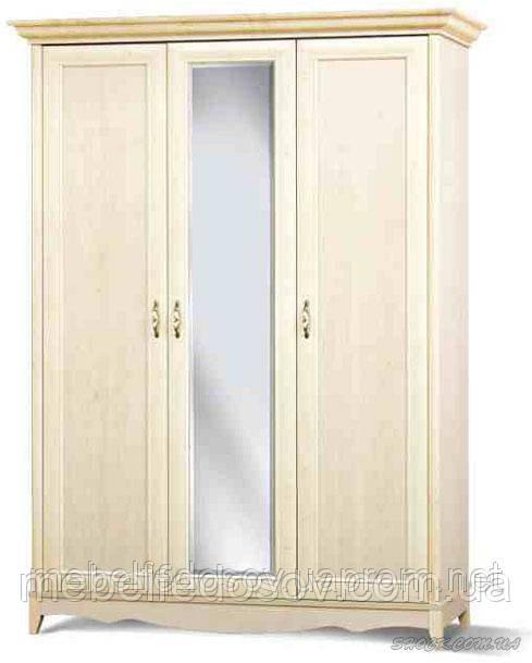 Шкаф 3Д Селина  (Світ мебелів) 1550х655х2090мм