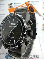 Мужские наручные электронно-кварцевые часы Skmei 1131 на браслете