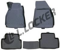 Коврики  в машину Chevrolet Malibu sd (11-) серые 3D, Lada Locker