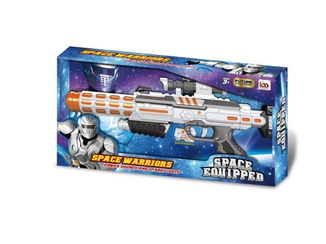 Игрушечный пистолет-бластер