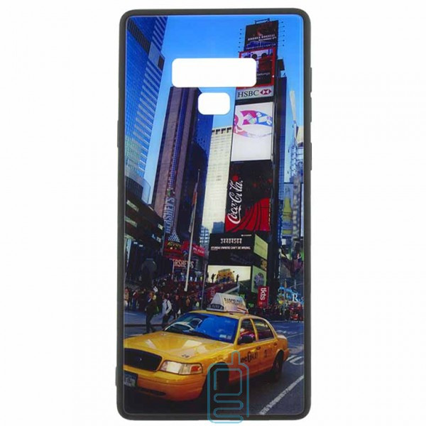 Чехол накладка Glass Case New Samsung Note 9 N960 такси