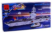 """Конструктор Brick 113 """"Военный корабль-Авианосец"""", 990 дет."""
