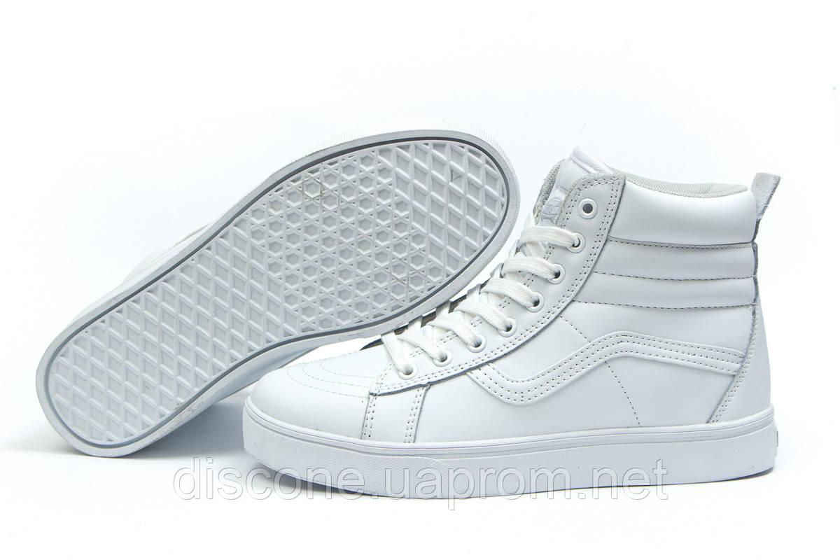 Зимние кроссовки на меху ► Vans Old School Winter,  белые (Код: 30722) ►(нет на складе) П Р О Д А Н О!