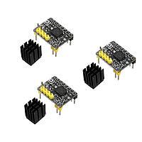 3Pcs / Pack BIQU TMC2130 Шаговый модуль Мотор с модулем черного принтера с термопринтером черного цвета - 1TopShop