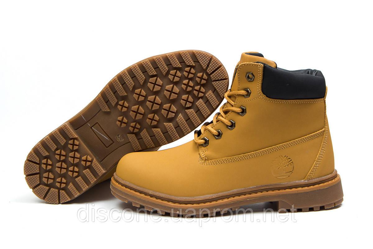 Зимние ботинки на меху ► Timberland Premium Boot,  рыжие (Код: 30731) ► [  39 (последняя пара)  ] ✅Скидка 34%