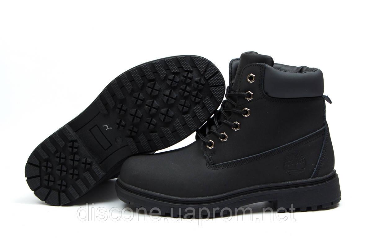 Зимние ботинки на меху ► Timberland Premium Boot,  черные (Код: 30734) ►(нет на складе) П Р О Д А Н О!