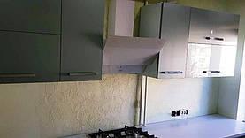 Кухня до установки скинали