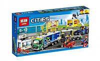 Конструктор Cities Грузовой терминал 02082 LEPIN