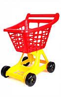 Игровая тележка для супермаркета Технок 4227 Красная (37028)