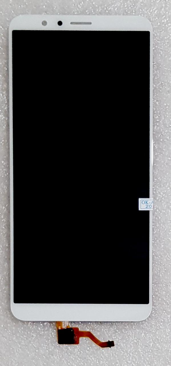 Модуль (сенсор + дисплей) для Huawei Honor 7X(BND-L21) білий