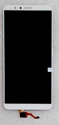 Модуль (сенсор + дисплей) для Huawei Honor 7X(BND-L21) білий, фото 2