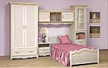 Кровать односпальная с ящиками 1-сп ШСелина  (Світ мебелів) 2095х970х940мм , фото 2