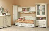Кровать односпальная с ящиками 1-сп ШСелина  (Світ мебелів) 2095х970х940мм , фото 3