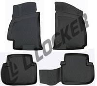 Коврики  в машину Chevrolet Lanos (96-) 3D, Lada Locker