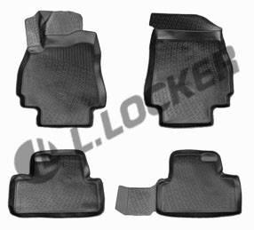 Коврики в салон Chevrolet Orlando (10-) 3D, Lada Locker