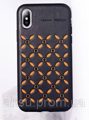 Чехол для iPhone XS/X Rock Origin (Black)