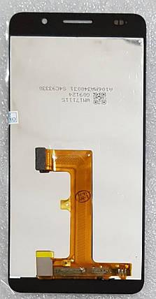 Модуль (сенсор + дисплей) для Huawei Honor 6 (H60-L02) чорний, фото 2