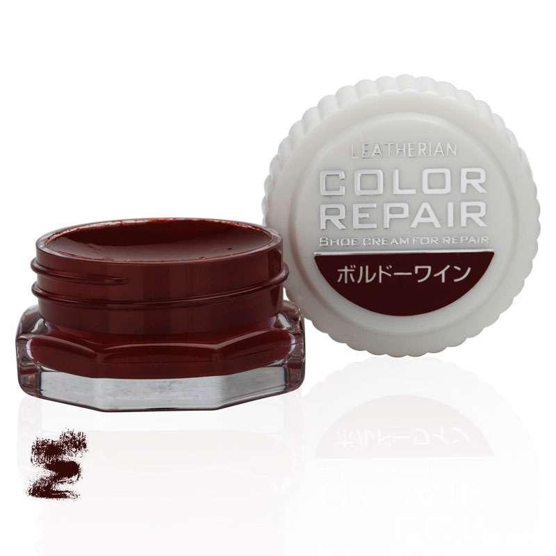 ✅ Бордовая крем-краска для обуви класса люкс Columbus Leatherian Color Repair, 9 мл