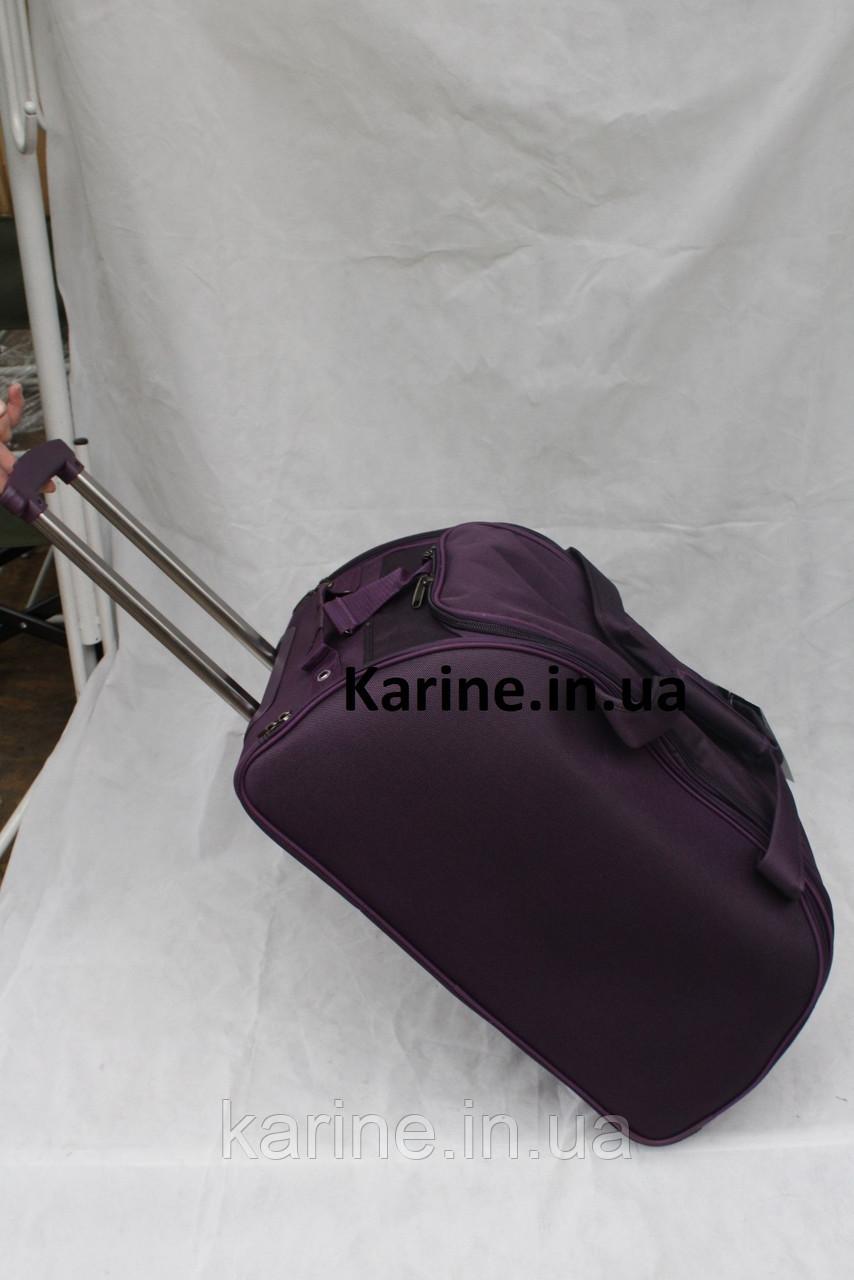 Чемодан - сумка на колесах My Travel