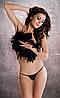 Эротические стринги черные MT012 Passion black