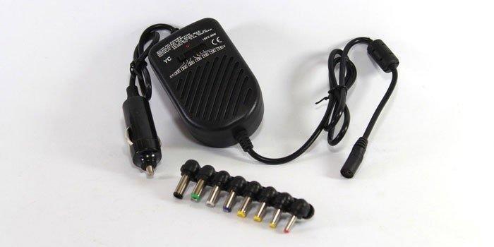 Универсальное автомобильное зарядное для ноутбука