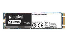 SSD  480GB Kingston A1000 M.2 2280 PCIe 3.0 3D TLC (SA1000M8/480G)