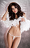 Сексуальные белые стринги MT013 Passion white