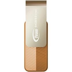 Флеш-накопитель USB3.0  64Gb Team C143 Brown (TC143364GN01)