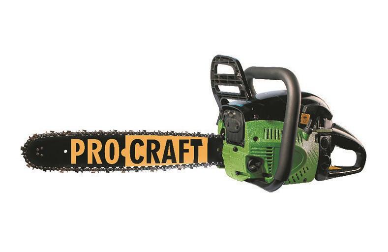 Бензопила Pro Craft K450 (одна шина, одна ланцюг)