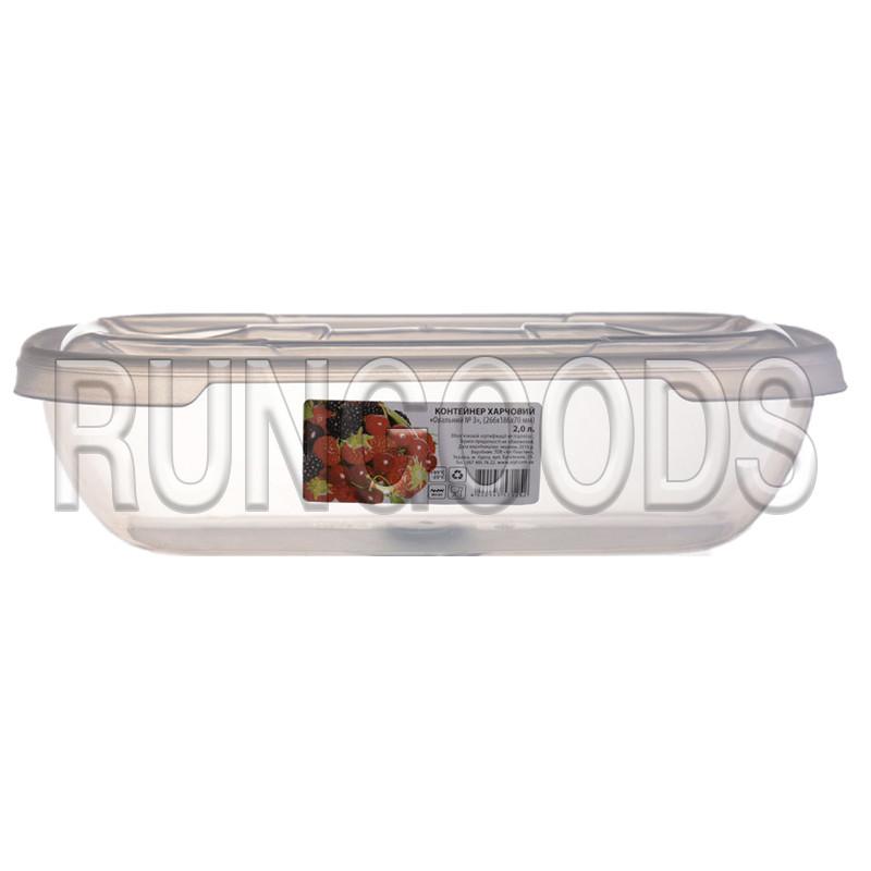 Контейнер пищевой овальный 2л