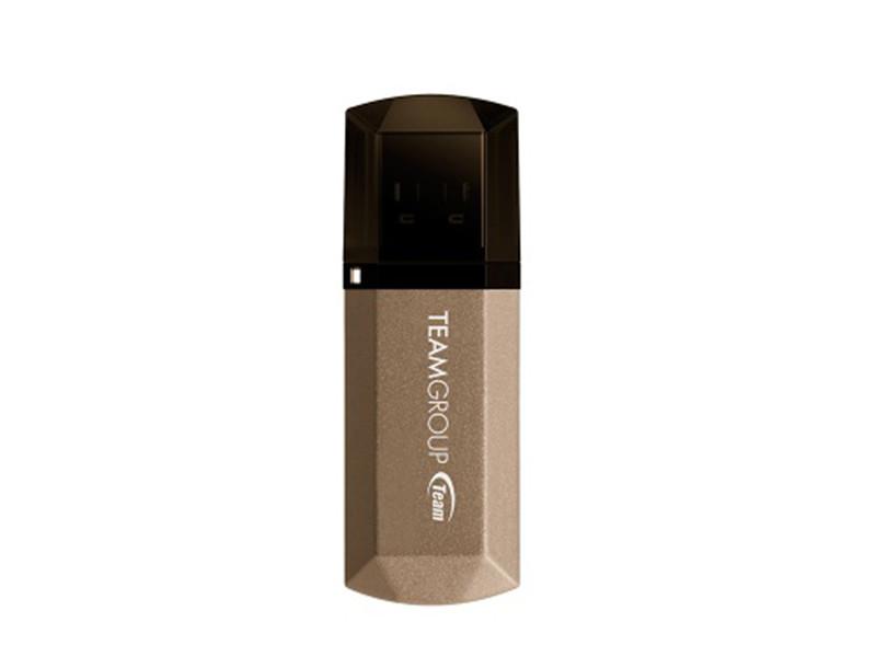 Флеш-накопитель USB3.0 128Gb Team C155 Golden (TC1553128GD01)