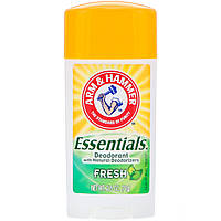 Arm & Hammer, Essentials Natural Deodorant, For Men and Women, Fresh, 2.5 oz (71 g)